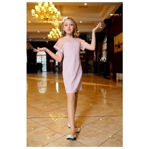 Купить Платье Ladetto размер 32-134, розовый, Платья и сарафаны