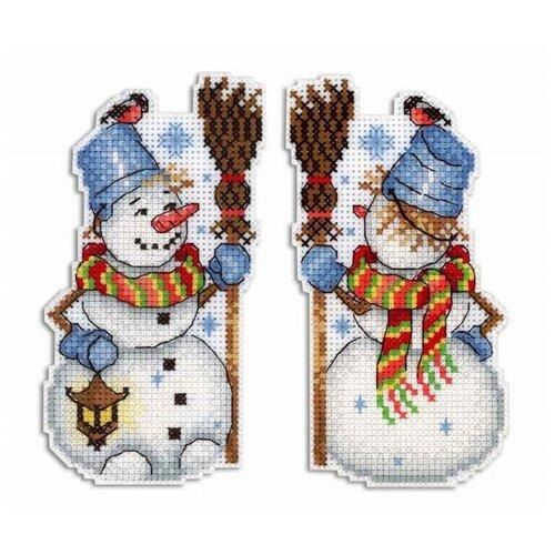 Купить Набор Снеговик 13х7 МП-Студия Р-318, М.П.Студия, Наборы для вышивания