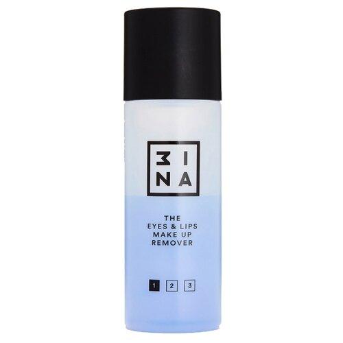 3INA средство для снятия макияжа с глаз и губ, 125 мл средство для глаз и губ payot les demaquillantes 125 мл моментально очищающее и разглаживающее