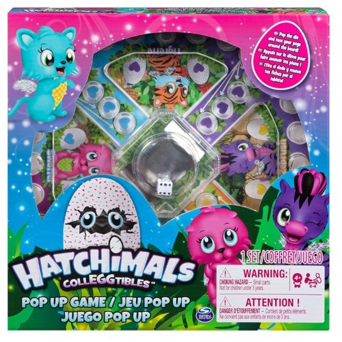 Фото - Настольная игра Spin Master Hatchimals 6044182 шапка true spin hope