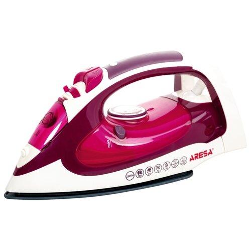 Утюг ARESA AR-3107 красный/белый