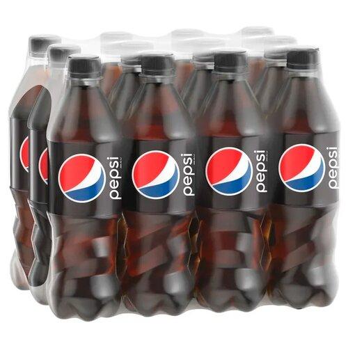 Газированный напиток Pepsi Max, 0.5 л, 12 шт.Лимонады и газированные напитки<br>