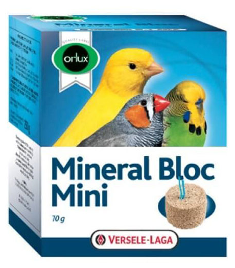Витамины Versele-Laga Минеральный блок Orlux Mineral Bloc Mini для мелких птиц
