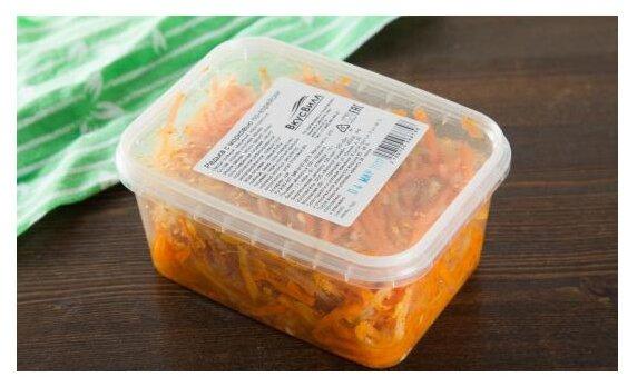 ВкусВилл Салат Редька с морковью по-корейски, 275 г