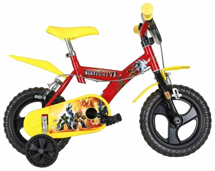 Детский велосипед Dino 123 GLN-GRI Gormiti