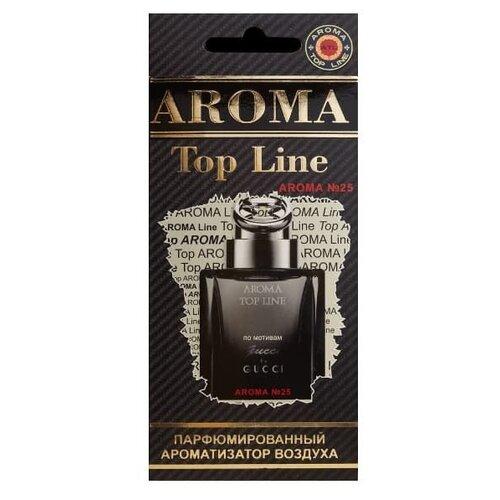 AROMA TOP LINE Ароматизатор для автомобиля Aroma №25 Gucci by Gucci 14 г