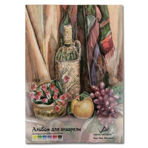 Купить Альбом для акварели Vista-Artista 42 х 29.7 см (A3), 180 г/м², 20 л., Альбомы для рисования