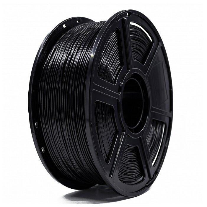 ABS пруток Tiger 3D 1.75 мм черный 1 кг фото 1