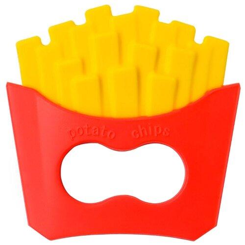 Прорезыватель Happy Baby French Fries 20029 красный/желтый