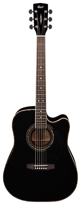 Электроакустическая гитара Cort AD880CE Black