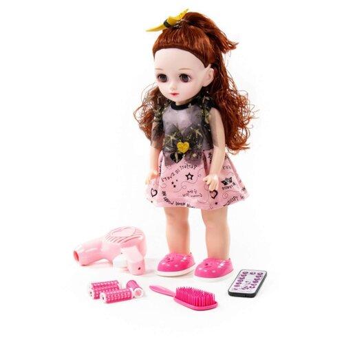 Купить Интерактивная кукла Полесье Вероника в салоне красоты, 37 см, 79602, Куклы и пупсы
