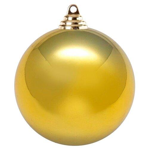Шар SNOWMEN блестящий 30 см золотой