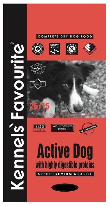 Корм для собак Kennels Favourite Active Dog