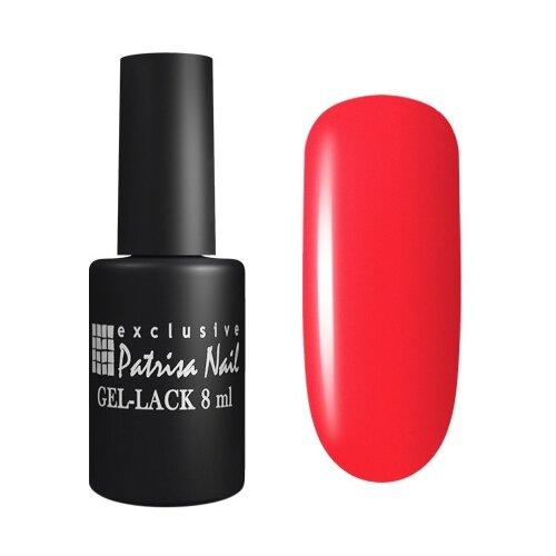 Гель-лак для ногтей Patrisa Nail Pina Colada, 8 мл, 121 неоновый алый