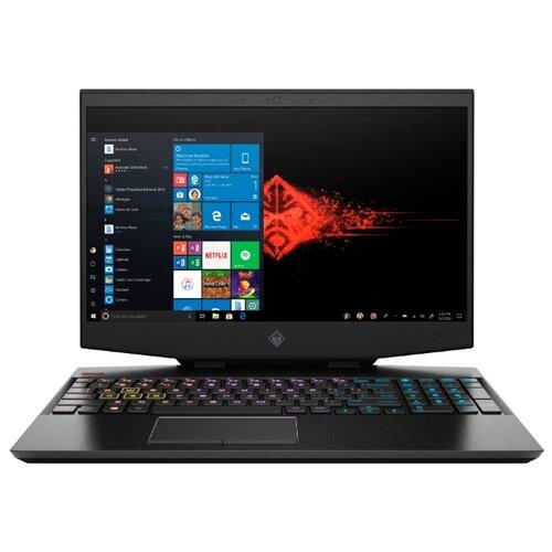 Ноутбук HP OMEN 15-dh1004ur (Intel Core i7 10750H 2600MHz/15.6/1920x1080/32GB/1024GB SSD/DVD нет/NVIDIA GeForce RTX 2070 Super Max-Q 8GB/Wi-Fi/Bluetooth/Windows 10 Home) 104K3EA таинственный черный ноутбук hp omen 15 ax213ur intel core i7 7700hq 2800 mhz 15 6 1920х1080 12288mb 256gb hdd dvd нет nvidia geforce gtx 1050 wifi windows 10 home