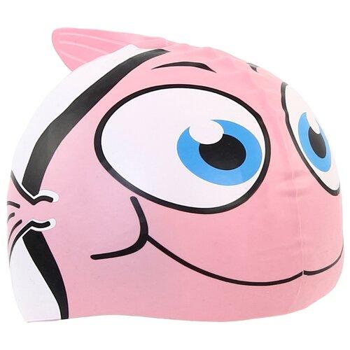 Шапочка для плавания Larsen LSC10 розовый шапочка larsen ls78 pink neon