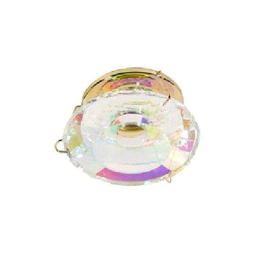 Встраиваемый светильник Акцент Crystal 295, золото светильник встраиваемый акцент wl 670 хром