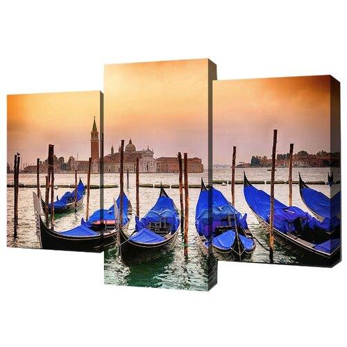 Модульная картина Toplight TL-TM1002 99х65 см картина бордовые тюльпаны трихтин модульная 2943431 125 х 73 см
