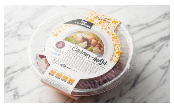 ВкусВилл Салат-боул со свеклой, цукини и сыром Тофу, 225 г