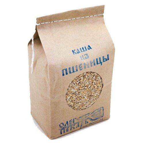 Каша пшеничная цельнозерновая БИО. Из органической Шугуровской пшеницы. Олег пекарь, 1 кг.
