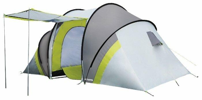 Купить Палатка ATEMI SELIGER 4 CX серый/зеленый по низкой цене с доставкой из Яндекс.Маркета (бывший Беру)