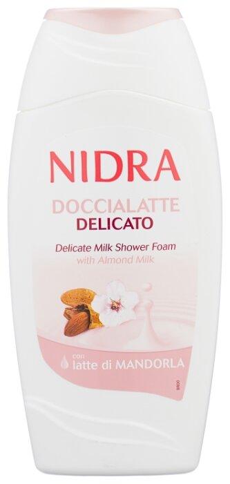 Пена молочко для душа Nidra с миндальным