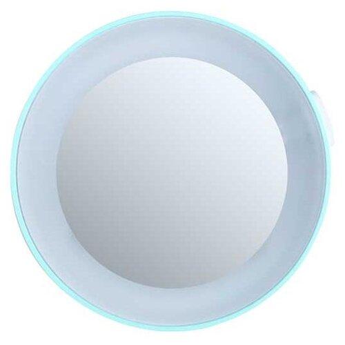 Зеркало косметическое настенное Gezatone LM100 с подсветкой бирюзовый  - Купить