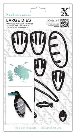 Купить Набор ножей для вырубки Пингвин 3D 8 шт по низкой цене с доставкой из Яндекс.Маркета (бывший Беру)