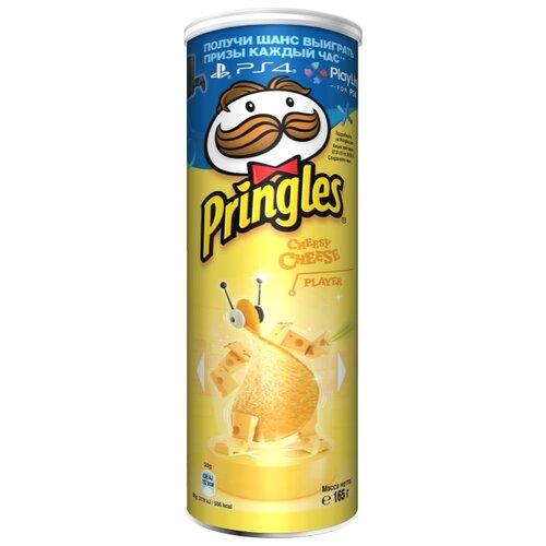 Чипсы Pringles картофельные Cheesy Cheese, 165 г