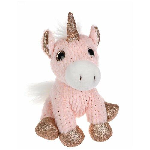 Купить Мягкая игрушка Fluffy Family Единорог Блестяшка 25 см, Мягкие игрушки