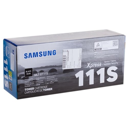 Картридж ориг. Samsung MLT-D111S черный для SL-M2020, SL-M2020W, SL-M2070, SL-M2070W (1000стр), цена за штуку, 213526