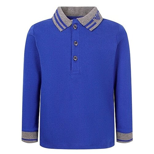 Купить Поло EMPORIO ARMANI размер 68, синий, Футболки и рубашки
