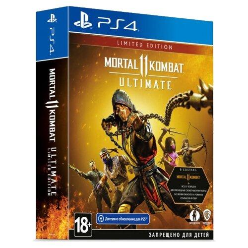 Купить Игра для PlayStation 4 Mortal Kombat 11 Ultimate. Limited Edition, Warner Bros.