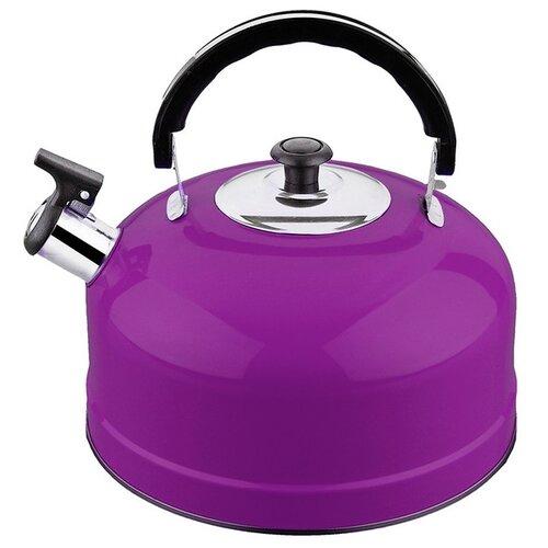 Irit Чайник со свистком IRH 2.5 л, фиолетовый набор форм для выпечки irit irh 924