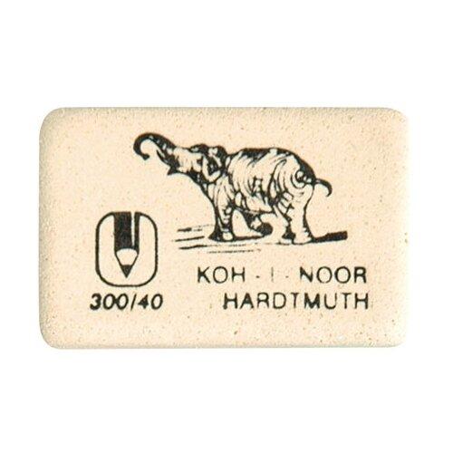 KOH-I-NOOR Ластик 300/40 белый koh i noor ластик 300 40