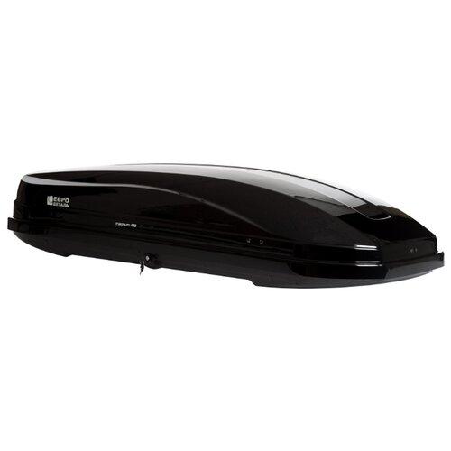 Багажный бокс на крышу Евродеталь Магнум 420 (420 л) черный металлик
