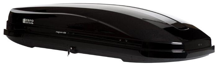 Боксы на крышу Evrodetal Евродеталь Магнум 420 Carbon Серый матовый 420 л.