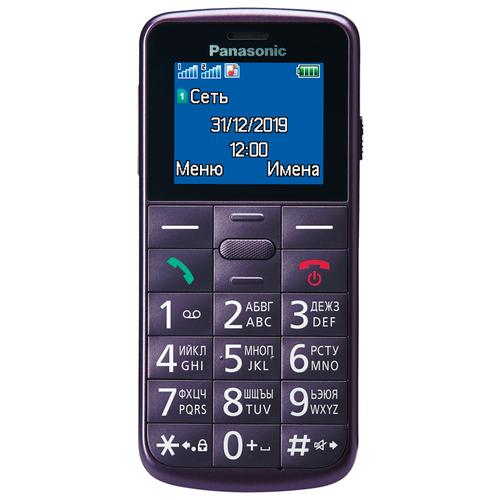 Телефон Panasonic KX-TU110RU, фиолетовый