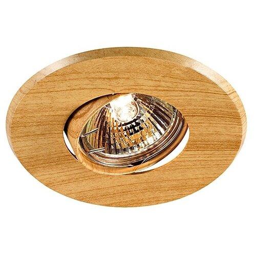 Встраиваемый светильник Novotech Wood 369709 встраиваемый светильник novotech wood 369717