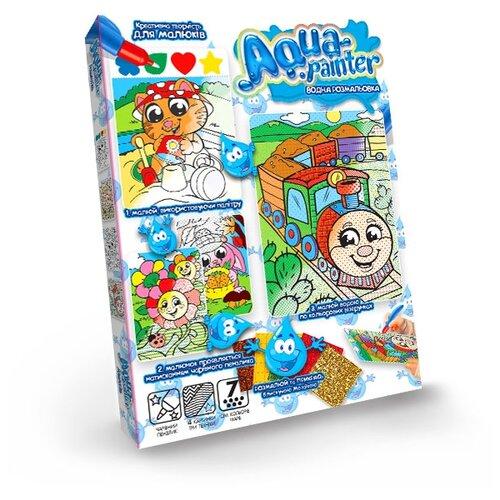Купить Danko Toys Набор для творчества Aqua painter. Паровозик, Раскраски