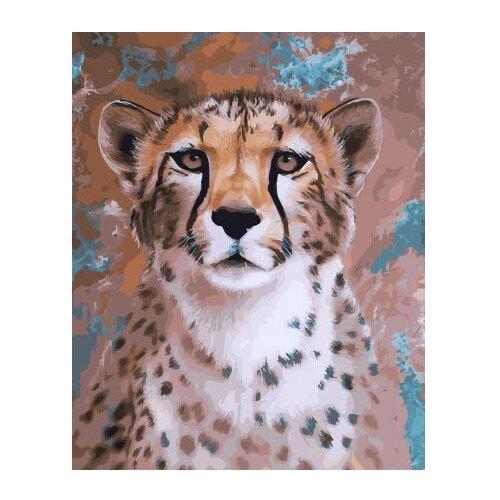 Купить ВанГогВоМне Картина по номерам Грация леопарда , 40х50 см (ZX 21990), Картины по номерам и контурам