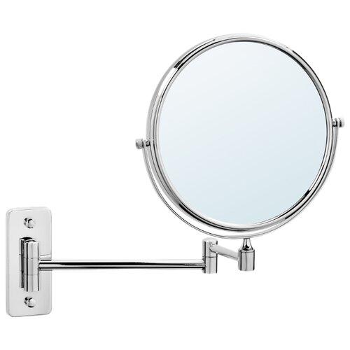Зеркало косметическое настенное Raiber RMM-1112 серебристый косметическое зеркало raiber rmm 1114 с увеличением и подсветкой хром