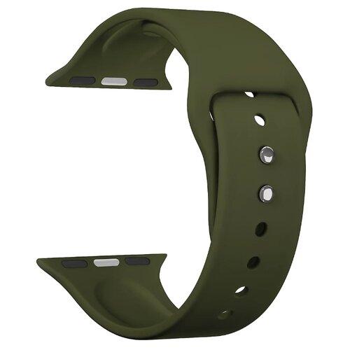 Фото - Lyambda Силиконовый ремешок Altair для Apple Watch 42/44 mm olive lyambda силиконовый ремешок alcor для apple watch 42 44 mm green