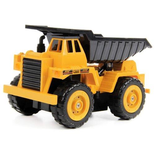 Купить Грузовик DRIFT 83583 19 см желтый/черный, Радиоуправляемые игрушки
