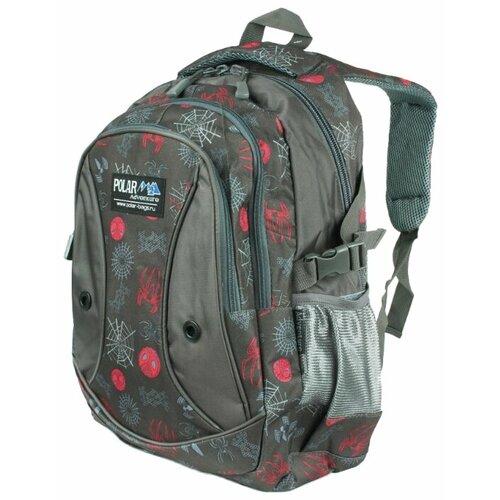 Рюкзак POLAR 80062 24.5 серый