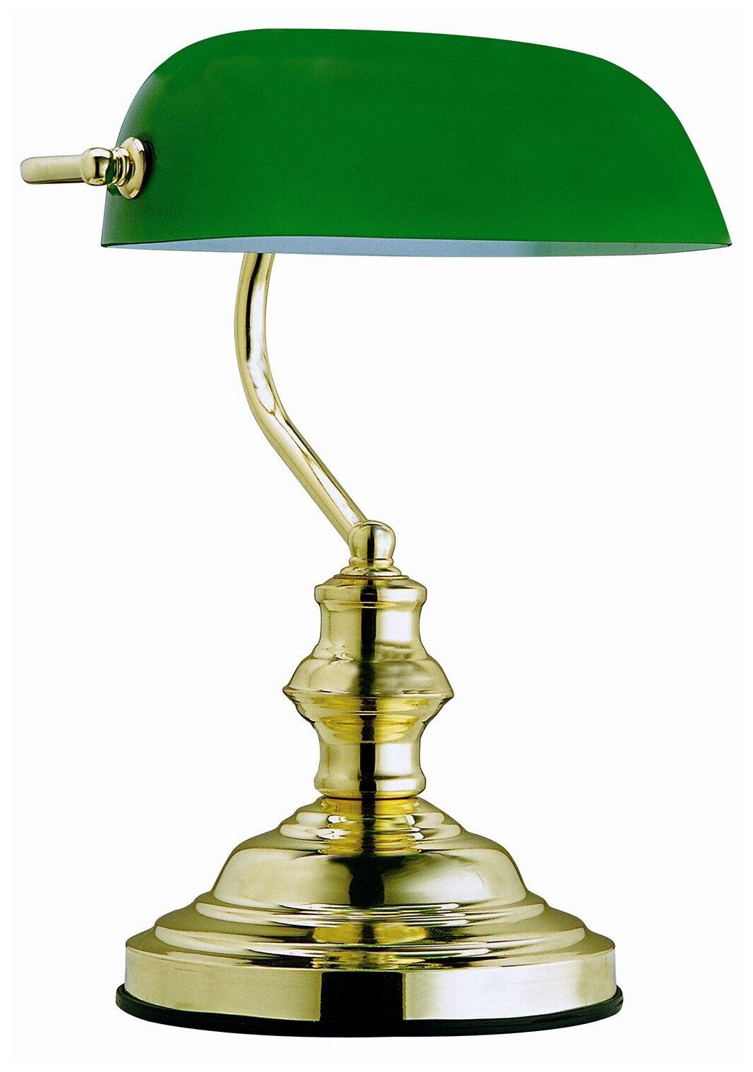Купить Настольная лампа Globo Lighting ANTIQUE 2491, 60 Вт по низкой цене с доставкой из Яндекс.Маркета