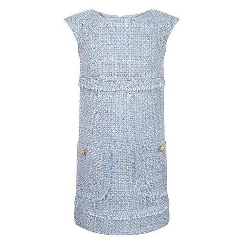 Платье David Charles размер 128, голубой