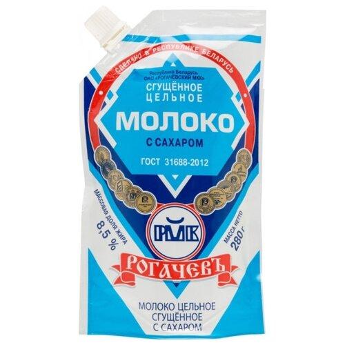 Фото - Сгущенное молоко Рогачевский молочноконсервный комбинат цельное с сахаром 8.5%, 280 г волоконовское молоко цельное сгущенное с сахаром премиум 380 г
