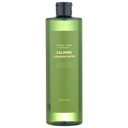 Купить Eunyul успокаивающая мицеллярная вода с экстрактами зеленых плодов Green Seed Therapy Calming Cleansing Water, 500 мл