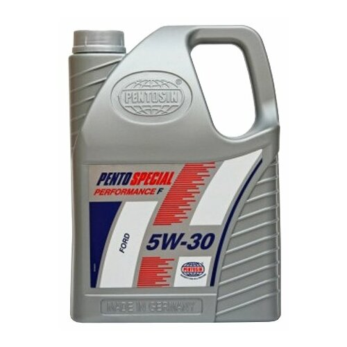 Полусинтетическое моторное масло Pentosin Pento Special Performance F 5W-30, 5 л